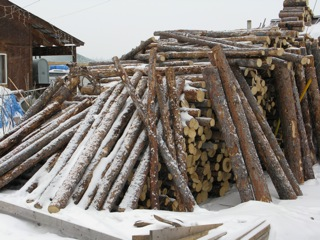The measure of man's wealth is the size of his firewood pile