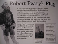 Robert Peary's Flag article